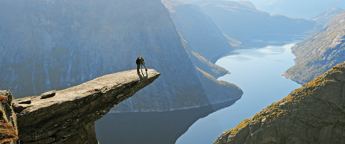 Norway's Trolltunga beauty spot has become famous around the world. Photo © Sveinung Klyve / www.fjordnorway.com