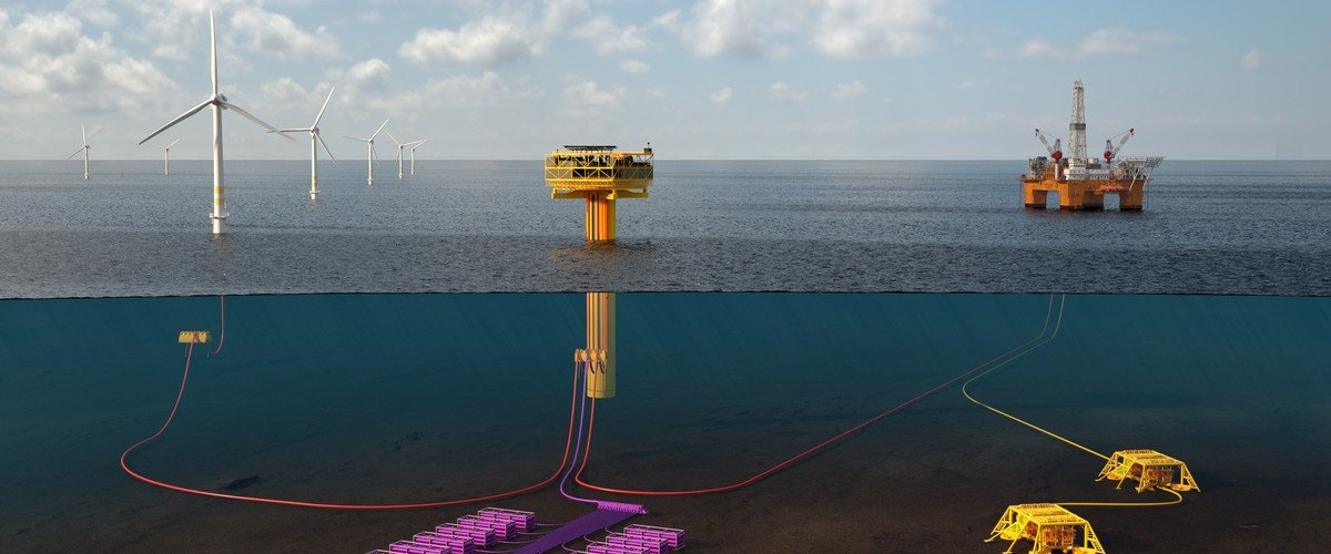 TechnipFMC is developing the technology to produce and store clean hydrogen at sea. Photo © TechnipFMC