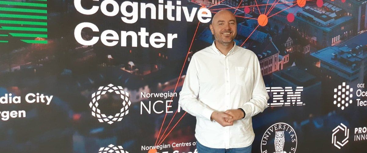 Odd Gurvin leads the Norwegian Cognitive Centre in Bergen, a new initiative that will help companies to benefit from artificial intelligence.