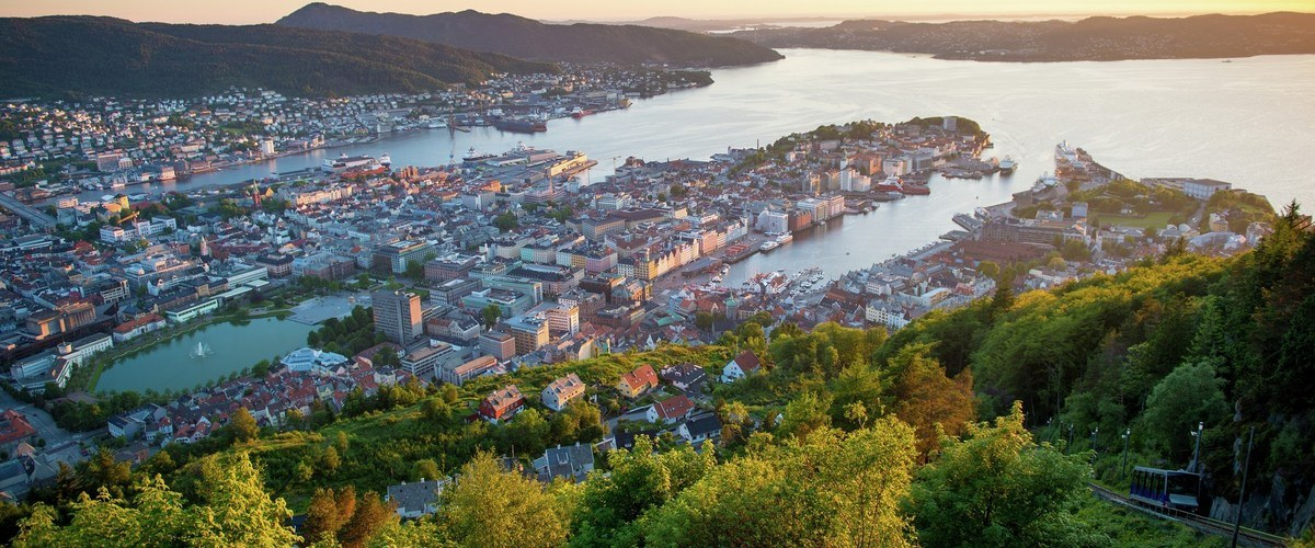 Bergen has a long history as a centre of trade and commerce for Norway (Photo c/o Sverre Hjørnevik, FjordNorge)