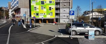 Two mobility hubs are already in operation in Bergen, and eight to nine others will soon be opened.