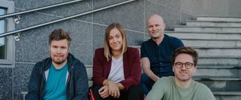 The Dealflow team (Photo courtesy of  Siv-Elin Skoglund, Opplett)
