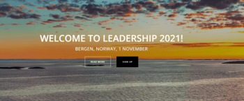 LeaderShip 2021 will bring together the maritime sector's leading corporate heads and foremost authorities (Photo c/o Maritime Bergen)