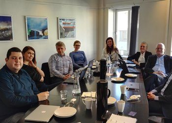 The Brazilian subsea company visited Odda and Bergen. The company is considering moving to Western Norway.