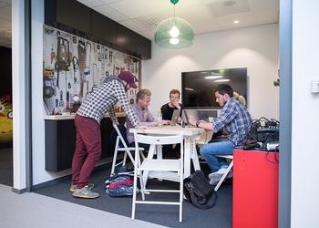 Innovasjonsuken OPP 25. til 30. september 2017. Her er fra Bergen Teknologioverføing og Nyskapingsparken. Foto: Bergen Teknologioverføring/C Foto