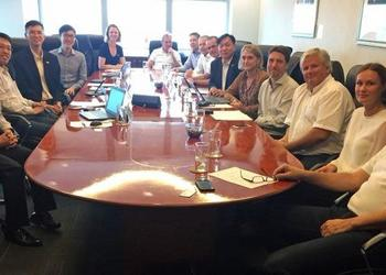 Norwegian companies within the ocean industries met with the Maritime and Port Authority of Singapore who has ambisious plans for the port.