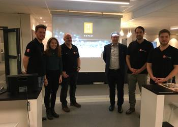 This is Hatch, a new accelerator for aquaculture companies, just settled in Bergen.