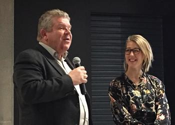 Einar Wathne, Chairman of the NCE Seafood Innovation Cluster, and Tanja Hoel, the cluster's Managing Director, recently launched the organization's new strategy for 2019-2021.