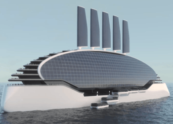 The ships of tomorrow will look very different to the cruise liners of today.
