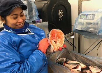 A Bergen-based company, Salmoncuts, is aiming to cut down on waste in the seafood industry.