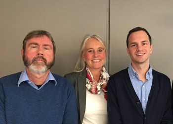 Over the last few weeks we have had several interesting inquiries from companies who regard Greater Bergen as an interesting place for their next move, says Vidar Totland (left), Tone Hartvedt and Ben  Steele in Invest in Bergen.
