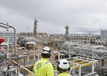 Kollsnes industrial park in Greater Bergen could be the site of a new hydrogen plant. Photo © Equinor / Helge Hansen